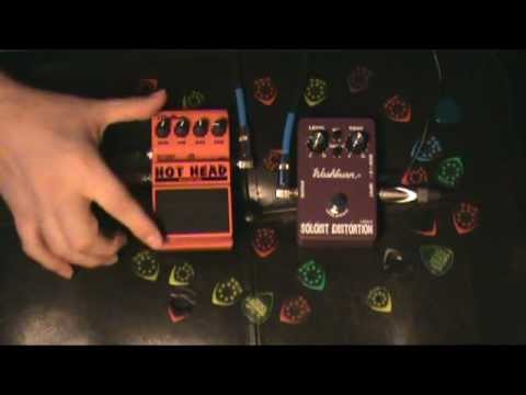 Washburn Soloist vs Digitech Hot Head