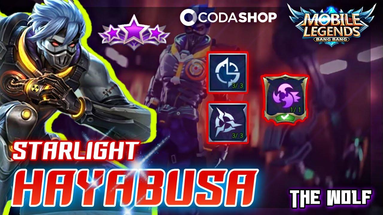 Hayabusa - Star light ⭐ สกินก็ถูกแรงได้ไง - MLBB