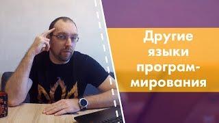 Мое отношение к другим языкам программирования