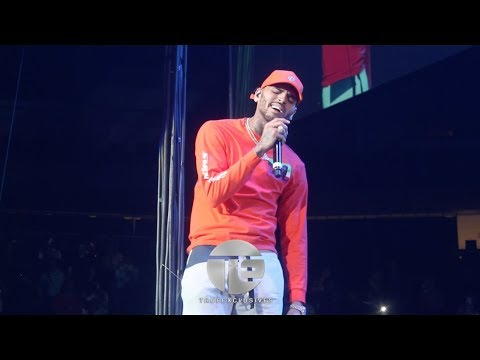 Chris Brown Killing the Hot 97 Hot For The Holidays Concert