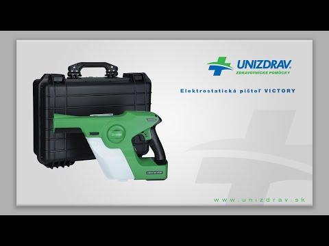 Elektrostatická pištoľ VICTORY - VIDEOMANUÁL