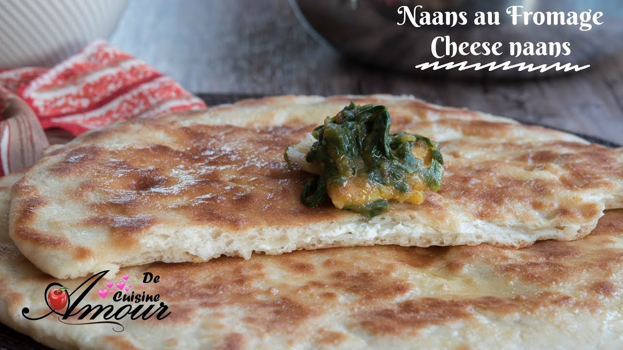 recette des naans au fromage pain indien ou cheese naans par soulef youtube. Black Bedroom Furniture Sets. Home Design Ideas
