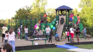Thomasville NC - Honoring military families, Children at Play, Project Divine Interruption