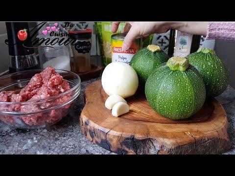 courgettes-farcies-à-la-viande-hachée,-idée-recette-facile-courgette-ronde-farcie-au-four
