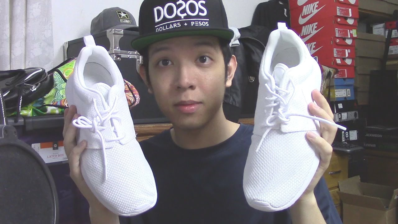 newest 2e889 e3778 Nike Roshe One (White) - Sneaker Pickups On Feet Review - YouTube