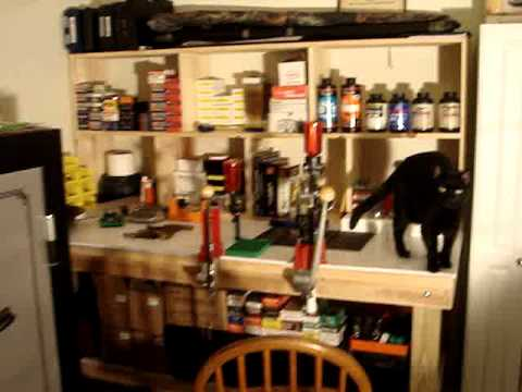 Reloading bench set up youtube - Youtube small spaces set ...
