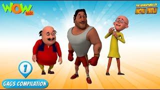 Motu Patlu - Funny Gags #2 - 1 hour episodes!
