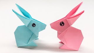 Easy Origami Rabbit - How to Make Rabbit Step by Step