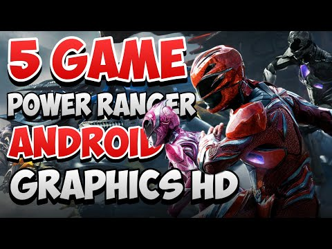 Top 5 Game Power Ranger Android Terbaik 2019 - Offline High Grafik HD - 동영상