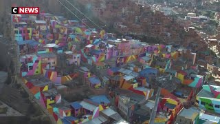 Bolivie : un quartier haut en couleur