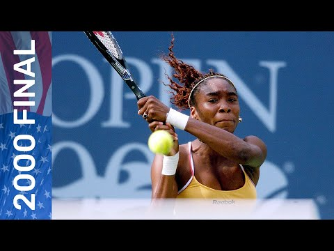 Venus Williams Wins Her First US Open Title! | Vs Lindsay Davenport | US Open 2000 Final