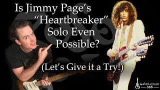 Heartbreaker Guitar Solo Lesson - Led Zeppelin