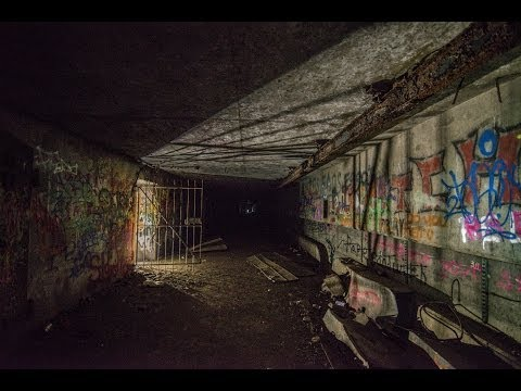 Urban Exploring Abandoned World War Two Bunkers in Rye New Hampshire with Jason Lanier Photography