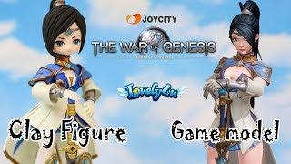 125】DIY Anime Figure┃Eiolin from the War of Genesis【Clay Tutorial┃Lovely4u】