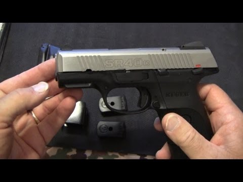 Ruger SR40c Concealed Carry Powerhouse