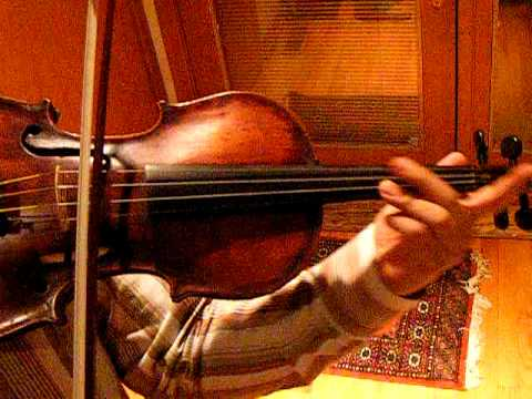 Fine 150 year old Violin, Sound Sample, Exc. of Tchaikovsky Violin Concerto, 2nd mov