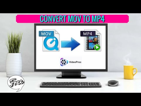 How to Convert MOV to MP4 using VideoProc Converter with One-Click(2021)