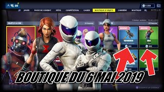 FORTNITE: May 6th Shop, NEW SKIN COLE, NEW TRIFOREUSE PIOCHE, item shop