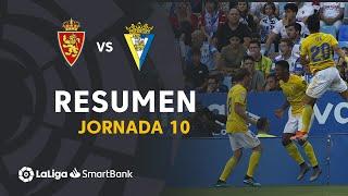 Resumen de Real Zaragoza vs Cádiz CF (0-2)