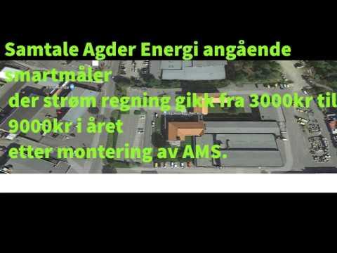 Samtale Agder energi ang smartmåler og 3 ganger strømkost