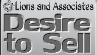DESIRE TO SELL - Lions Roar - Sales, Success & Motivational Quotes