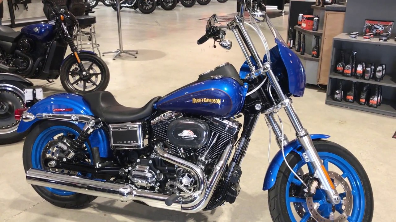 Harley-Davidson Custom Dyna Low Rider In Bonneville And