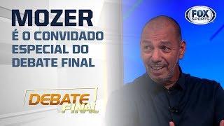 """""""Mais próximo do modelo europeu"""": Mozer revela treinador do Flamengo que o impressionou"""