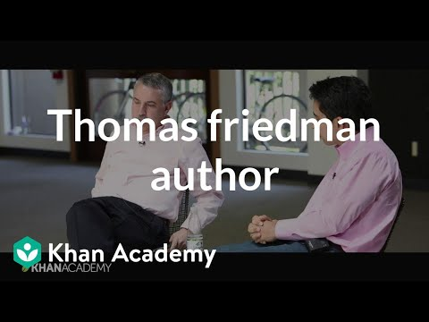 A Conversation with Thomas Friedman