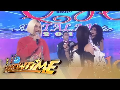 It's Showtime: Vice Ganda notices the eyes of Greg