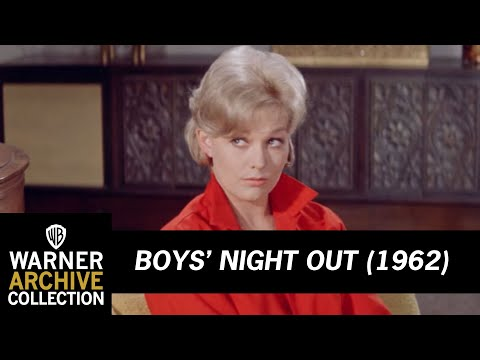 Boys' Night Out 1962 – Making Out With Kim Novak
