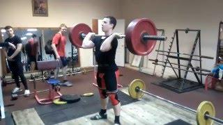 Роман Матюшкин (1 разряд) рывок 97 кг толчок 120 кг