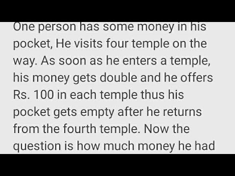 1 Man 4 Temples||mr. Puzzle Boy||