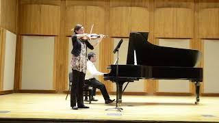 Ravel Violin&Piano Sonata - II. Blues
