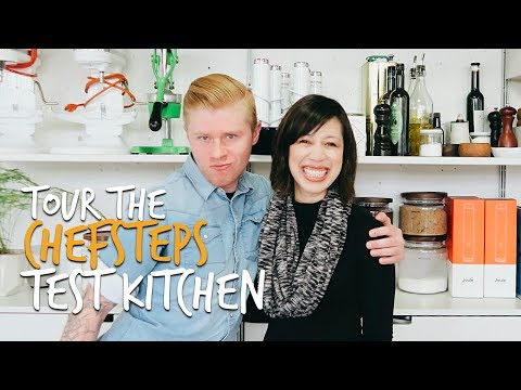 Tour the ChefSteps test kitchen and studio in Seattle