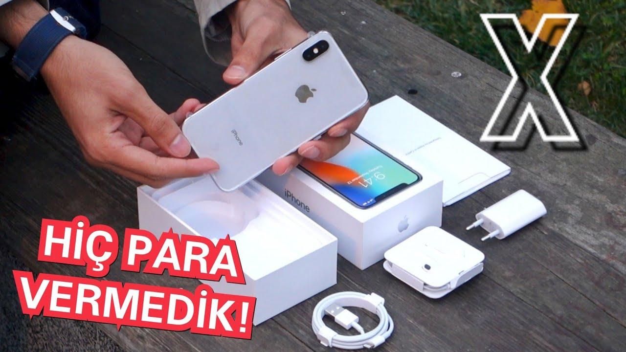 iPhone X Kutu Açılımı - Apple iPhone X Kaç Lira?