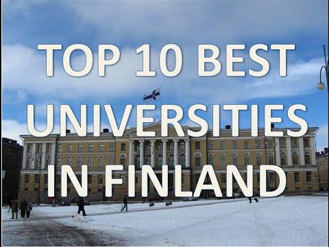 Top 10 Best Universities In Finland/Top 10 Universidades De Finlandia