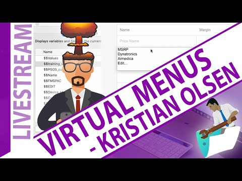 FileMaker Virtual Menus - Advanced - Kristian Olsen