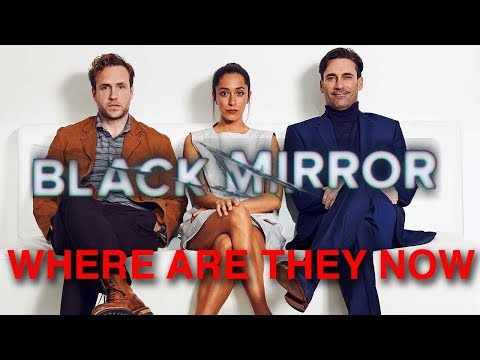 Download Youtube: Black Mirror Actors || Where Are They Now
