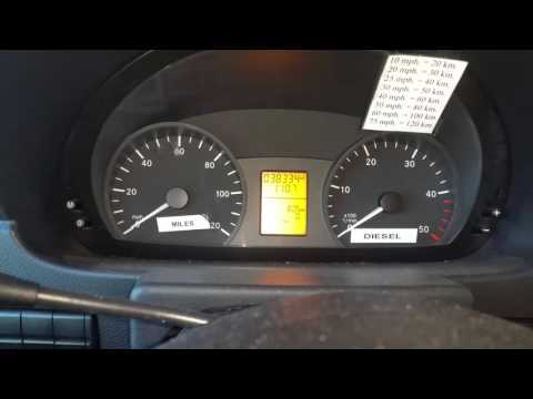 Sprinter van check engine light comes on this mercedes for Mercedes benz radio code reset free