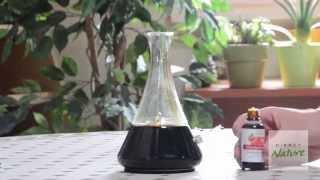 Diffuseur d'huiles essentielles Elixia noir