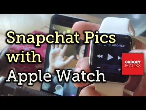 Can you use snapchat on apple watch series 1
