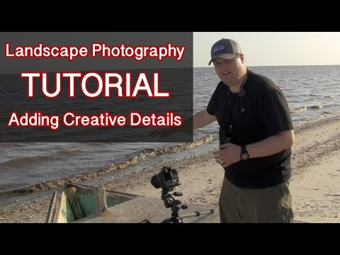 Landscape Photography Tutorial: Abandoned Boat On St. George Island - Adding Creative Details