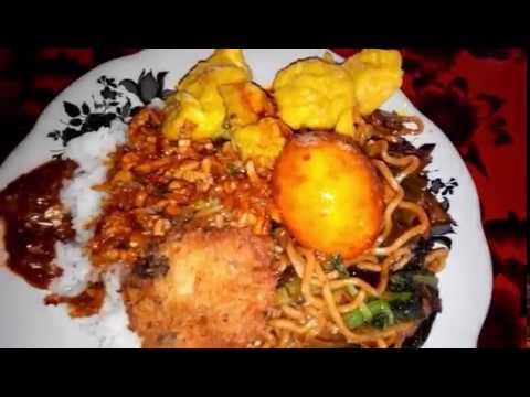 Nasi Pecel dan Nasi Campur Nikmat Di Warung Sederhana Mpok Rosi