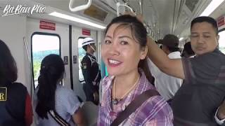 SKYTRAIN Ở SÂN BAY JAKARTA - INDONESIA|Travel and Food