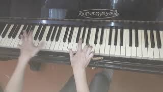 как играть на пианино цыганочку