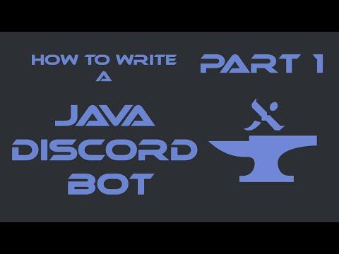 How to Create a Java Discord Bot (JDA 3.6.0+) | Initial Setup & Hello World