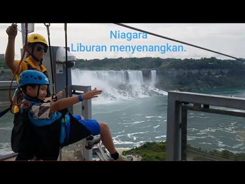 Vlog Liburan ke Niagara falls  Canada.