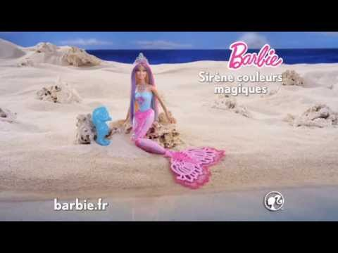 Barbie sir ne couleurs magiques youtube - Barbie sirene couleur ...