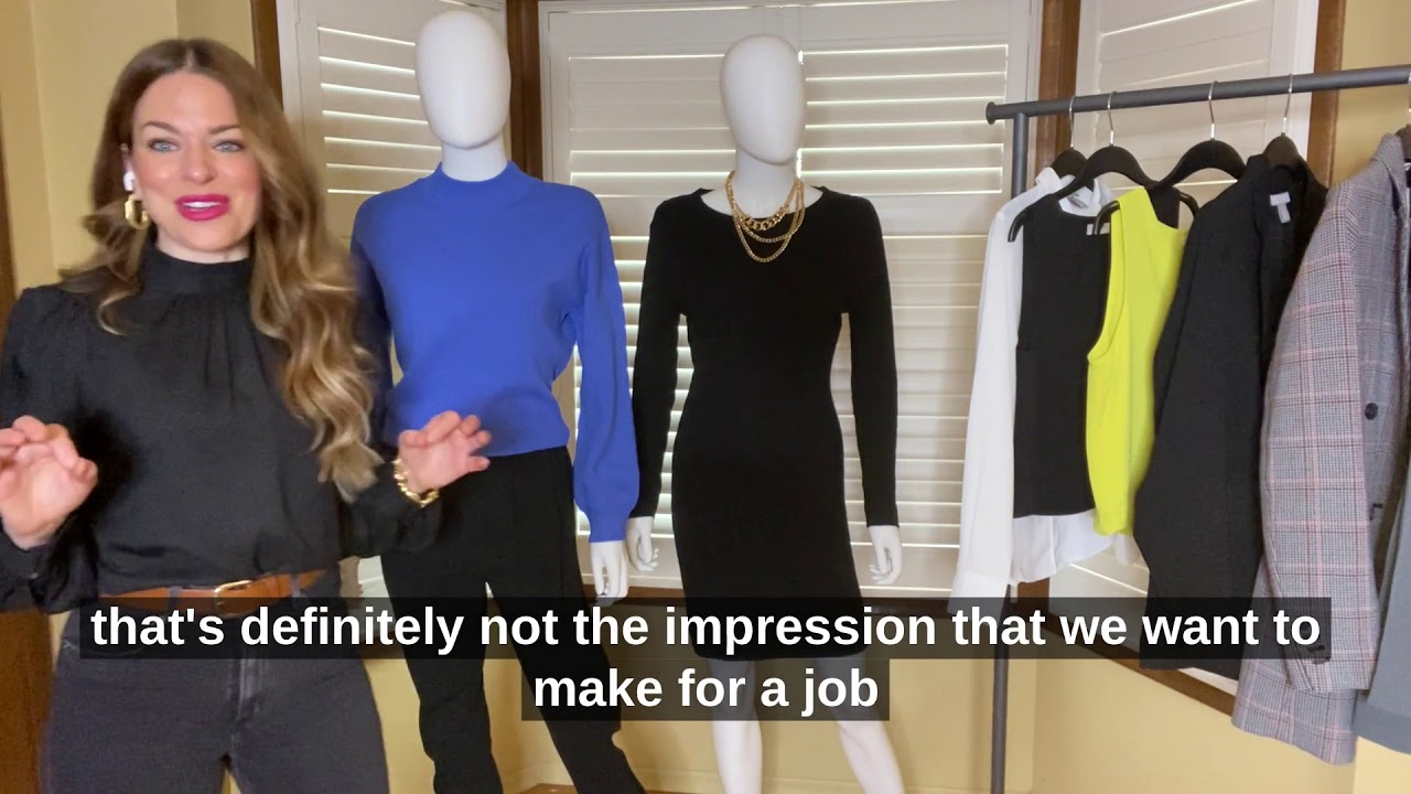 Professional Week 2021  |  Interview Fashion Tips w/ Natalie Sexton (Part 1)