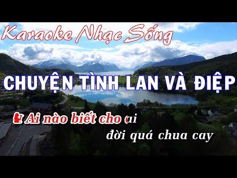 Karaoke Nhạc Sống - Chuyện Tình Làn Và Điệp - Beat chất lương cao